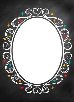 Oval, single Image, Side A