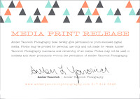 Print Release Authorization Card