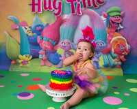 Lyla One Year Cake Smash